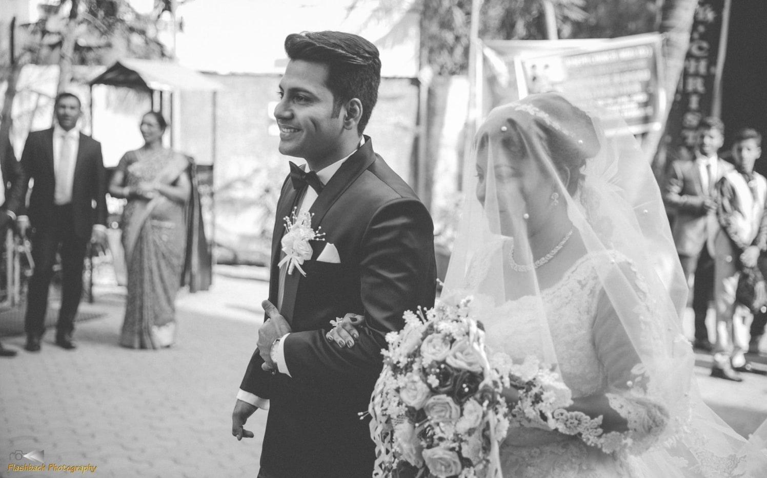 Christian Bride and Groom Making a Grand Entry by Lloyd Bangera Wedding-photography | Weddings Photos & Ideas