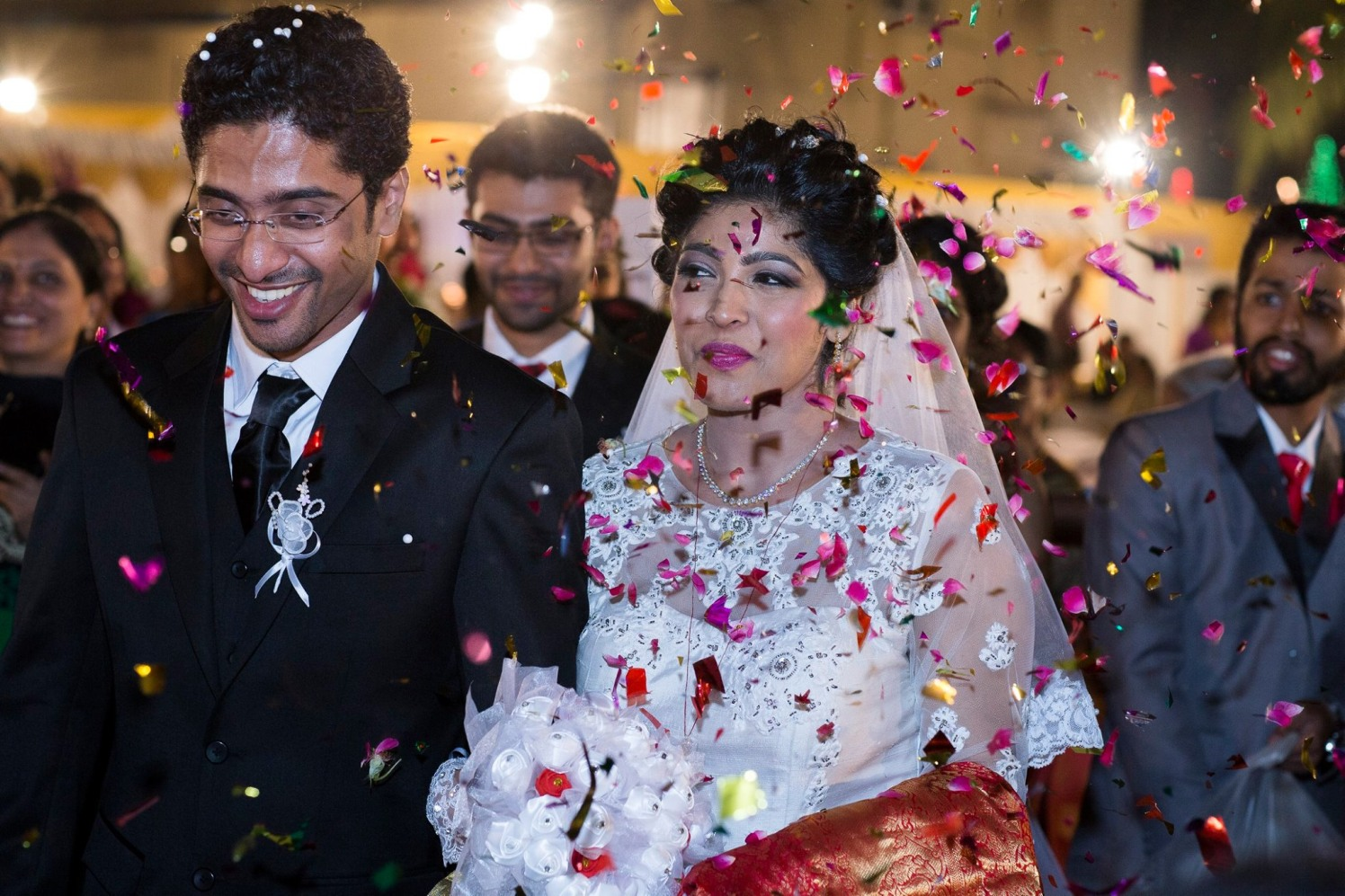 Bride and Groom's Grand Welcome by Lloyd Bangera Wedding-photography | Weddings Photos & Ideas