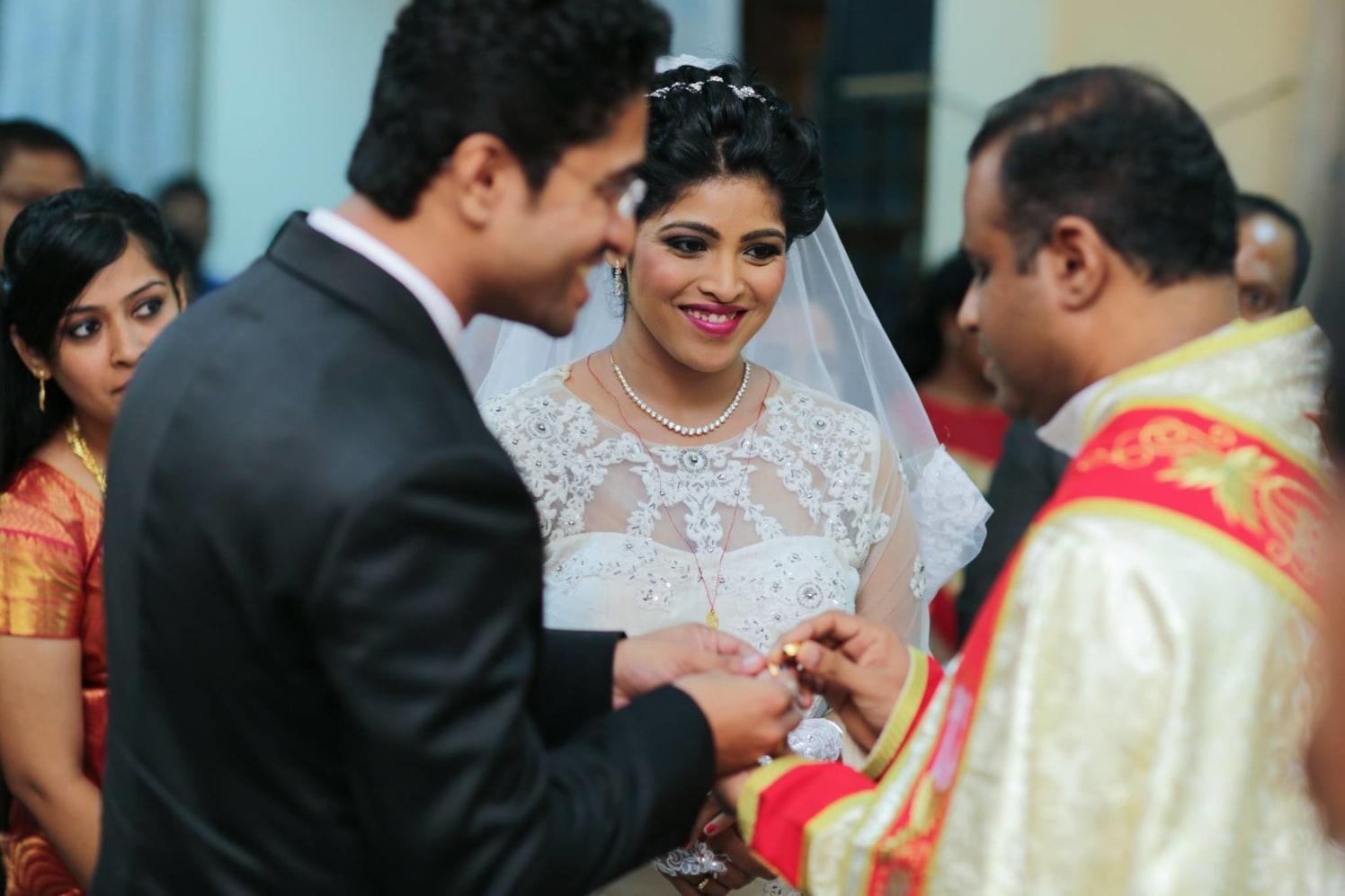 Christian Wedding Ring Ceremony Shot by Lloyd Bangera Wedding-photography | Weddings Photos & Ideas