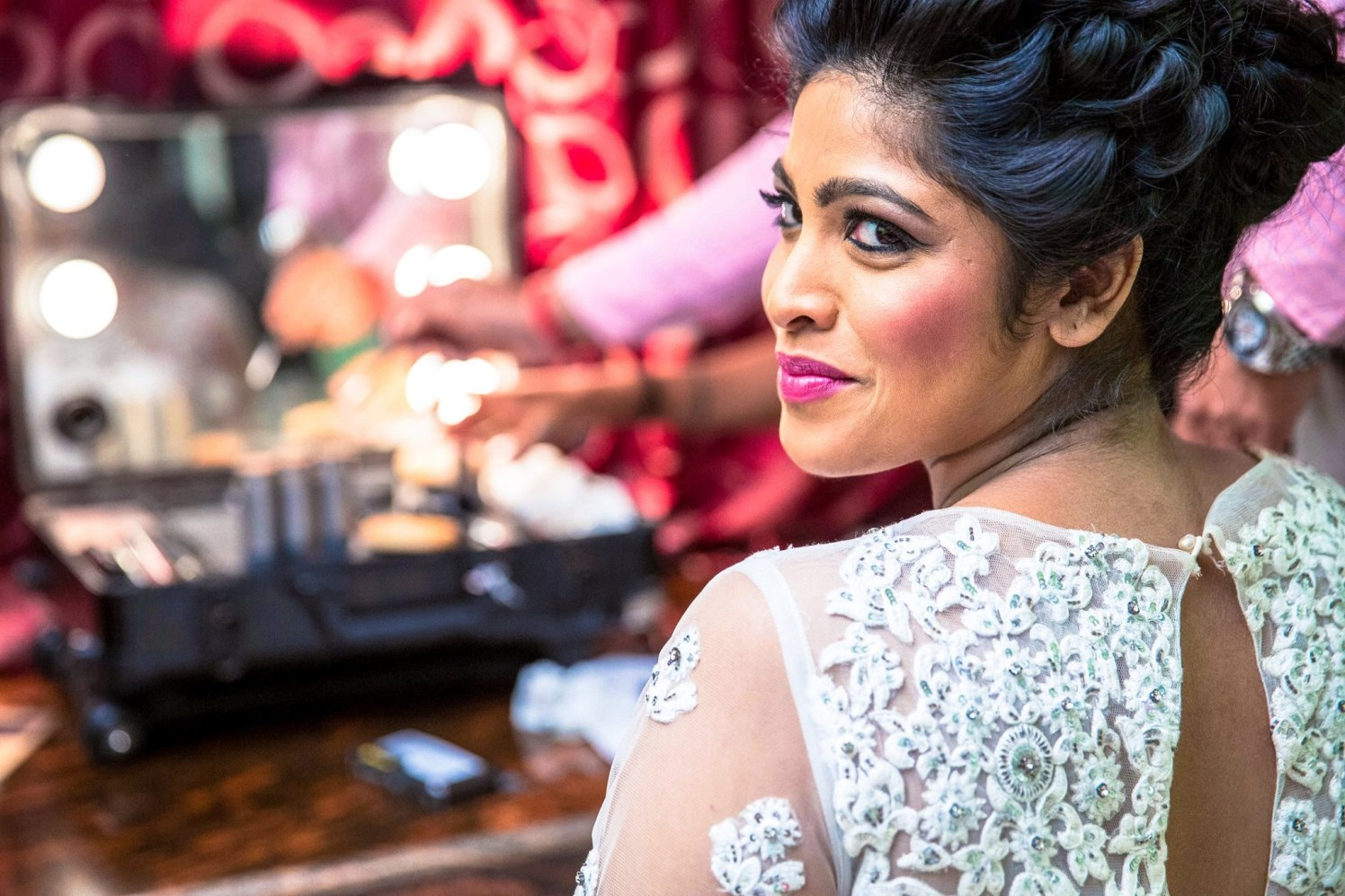 Bride Wearing Appealing Bold Makeup by Lloyd Bangera Bridal-makeup | Weddings Photos & Ideas