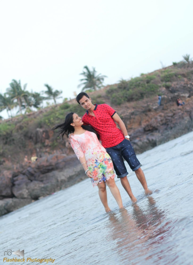 Bride and Groom To-Be Pose by the Beach by Lloyd Bangera Wedding-photography | Weddings Photos & Ideas