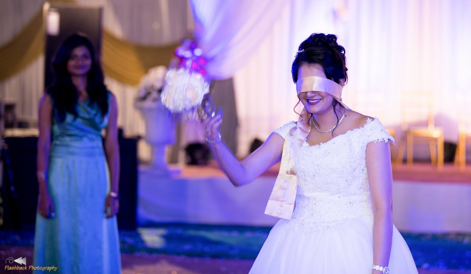 Blind folded beaut by Flashback photography  Wedding-photography | Weddings Photos & Ideas