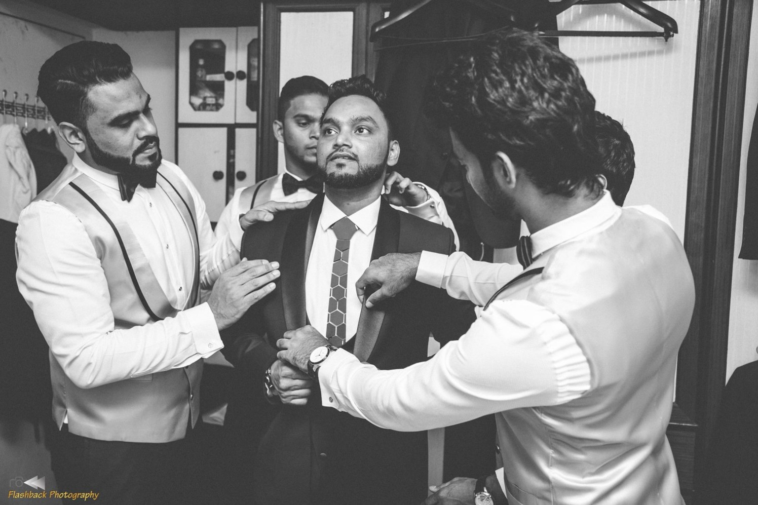 Gearing up the groom! by Flashback photography  Wedding-photography | Weddings Photos & Ideas