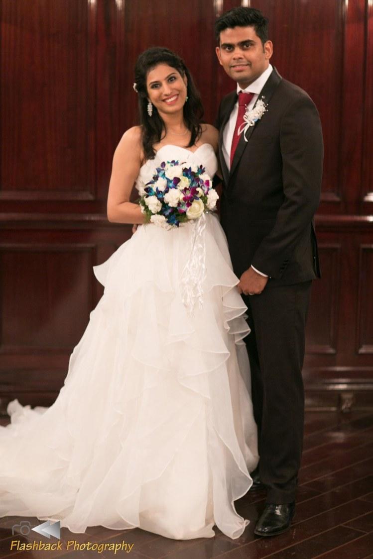 Classic Black and White Christian Attire by Lloyd Bangera Wedding-dresses | Weddings Photos & Ideas