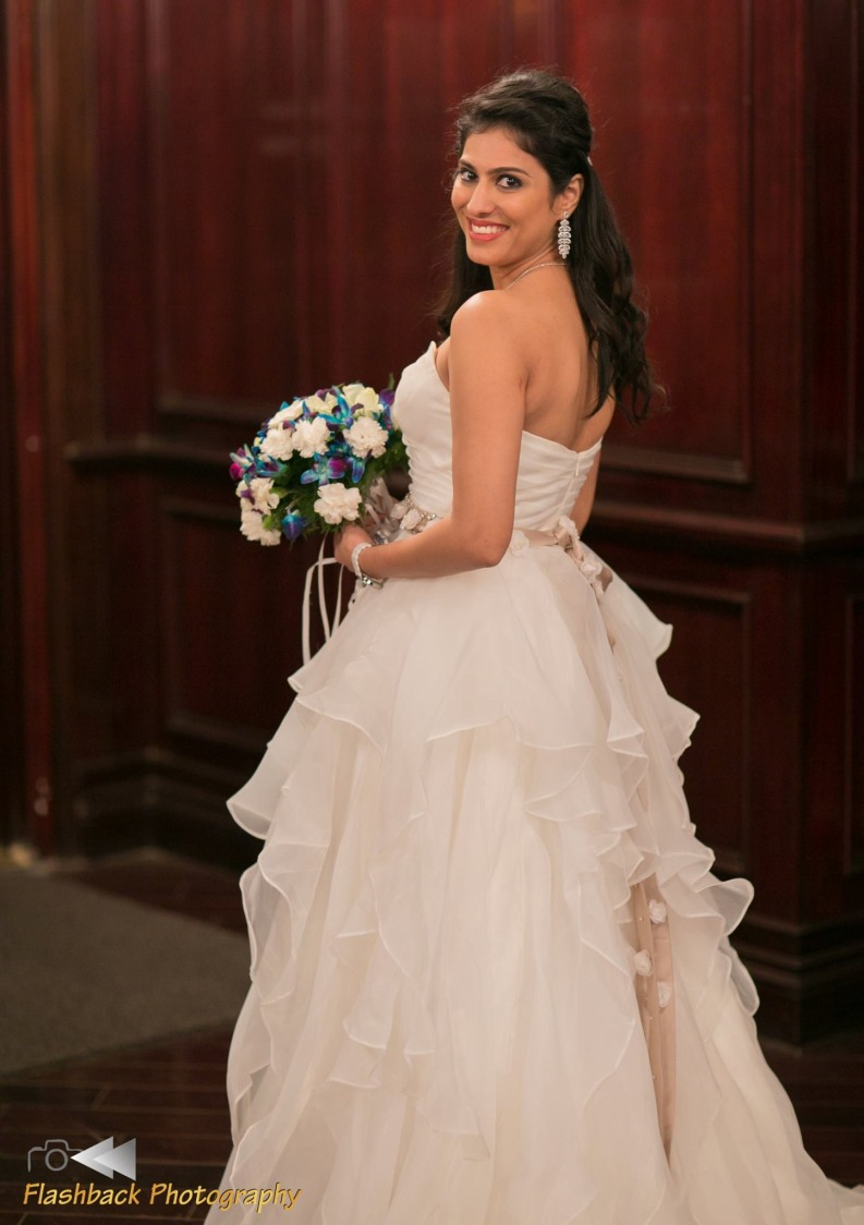Bride Wearing White Net Ball Gown by Lloyd Bangera Wedding-photography | Weddings Photos & Ideas