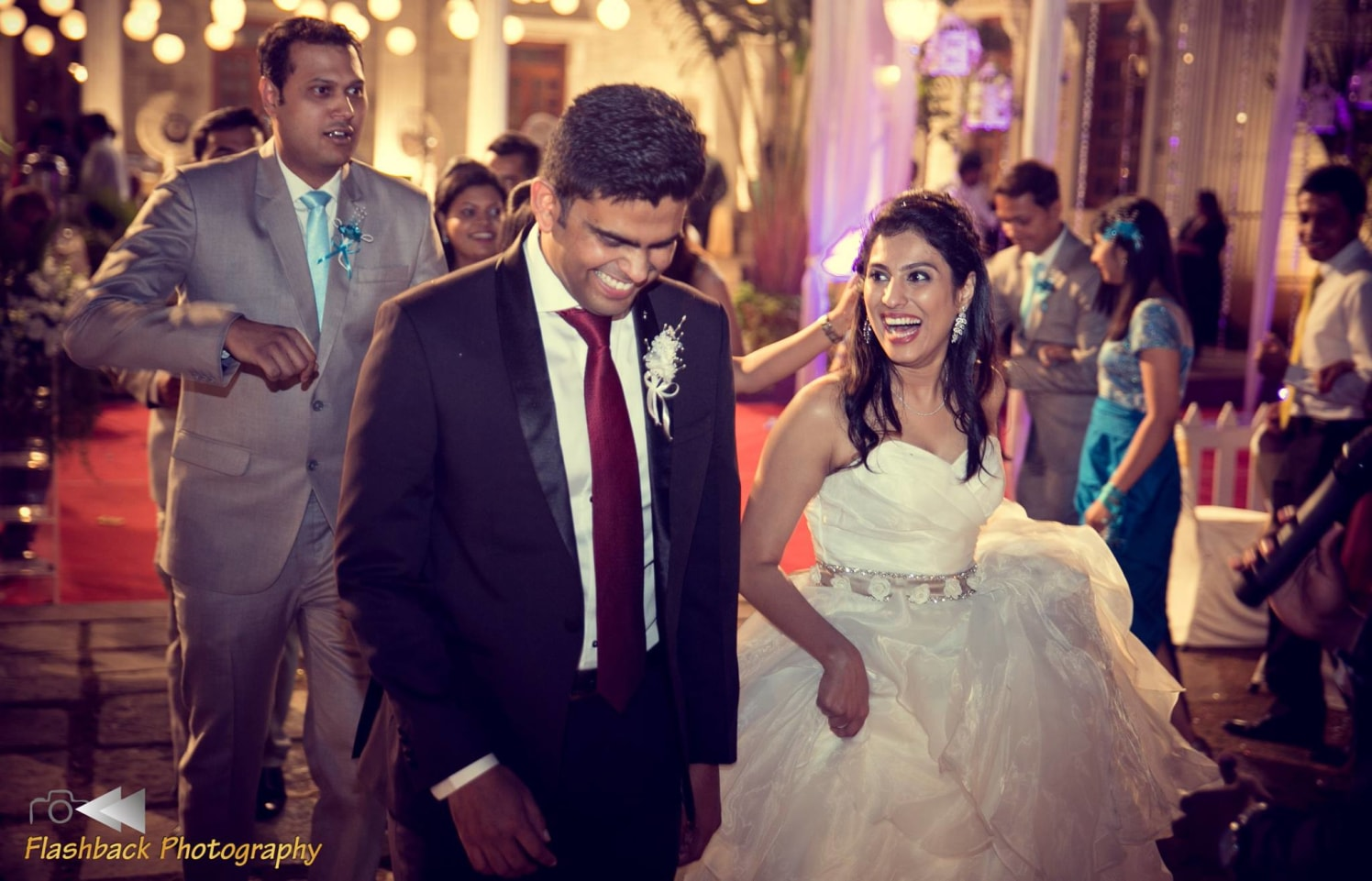 Bride and Groom Wearing Back and White Attire by Lloyd Bangera Wedding-photography | Weddings Photos & Ideas