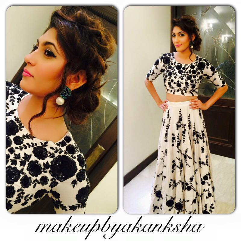 Makeup and outfit look for an evening party! by Akanksha  Bridal-makeup | Weddings Photos & Ideas