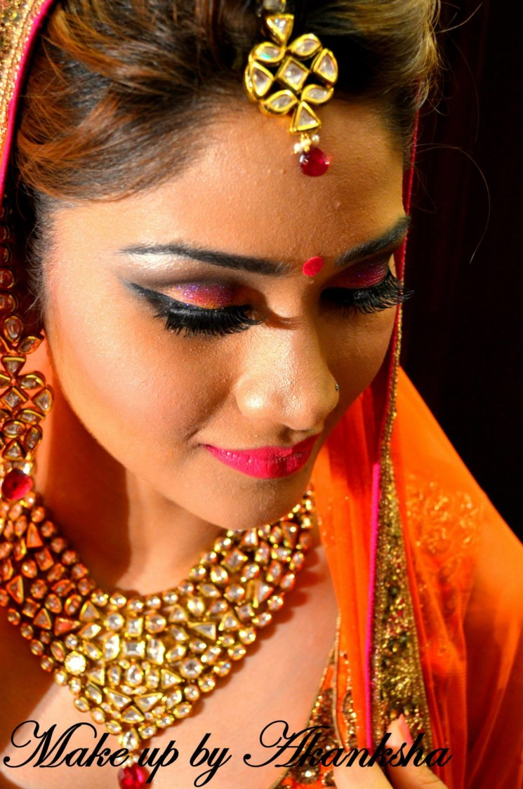 Bridal Wedding Look by Akanksha  Bridal-makeup | Weddings Photos & Ideas