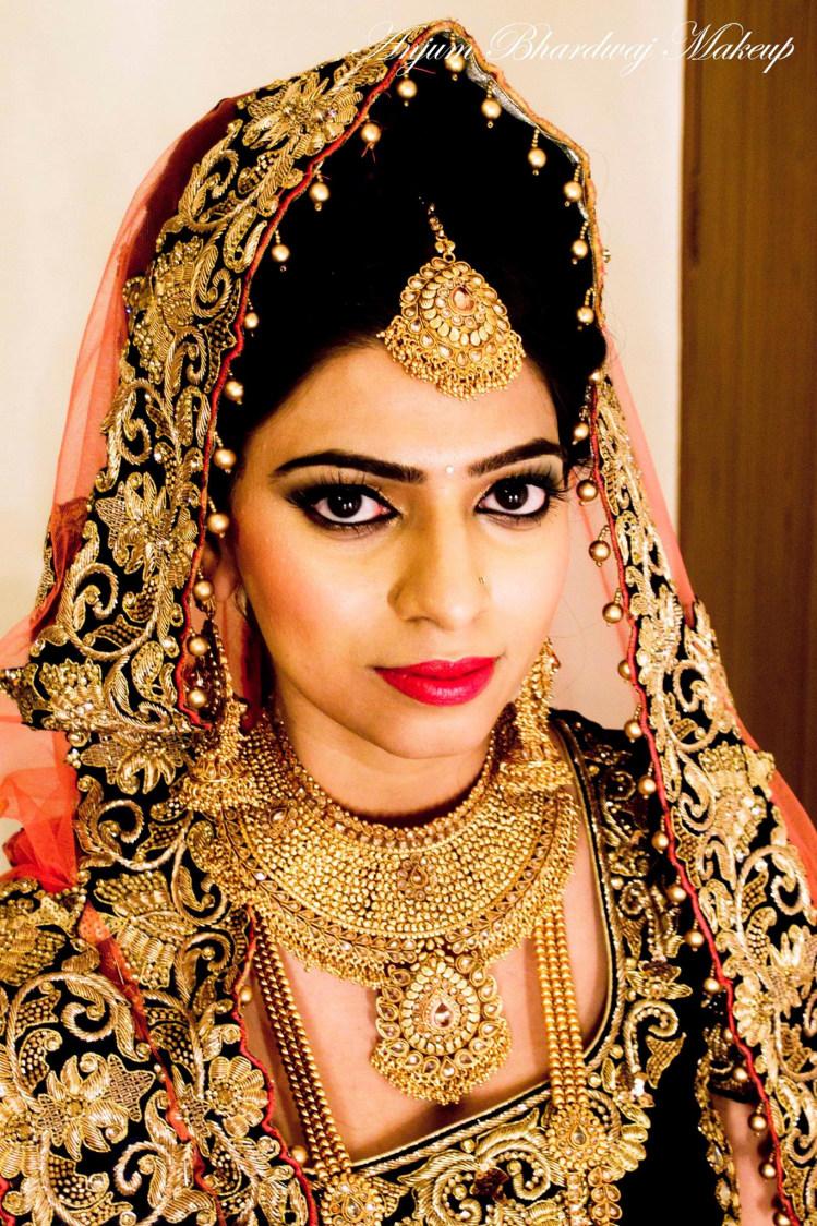 The bold bride. by Anjum Bridal-makeup | Weddings Photos & Ideas