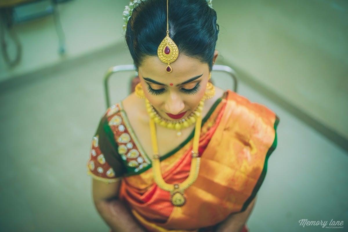 Perfect south Indian bride. by Anjum Bridal-makeup | Weddings Photos & Ideas