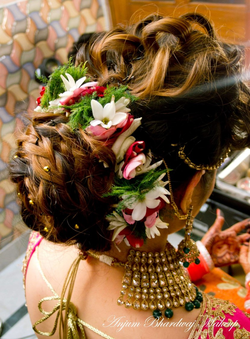 Best hair do ever. by Anjum Bridal-makeup | Weddings Photos & Ideas