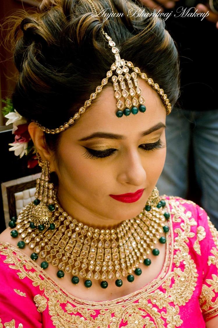 Picture perfect bride. by Anjum Bridal-makeup | Weddings Photos & Ideas