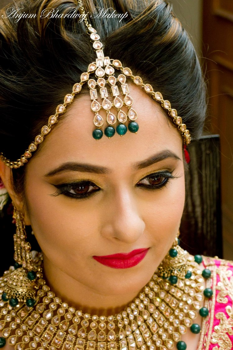 Perfect makeup. by Anjum Bridal-makeup | Weddings Photos & Ideas