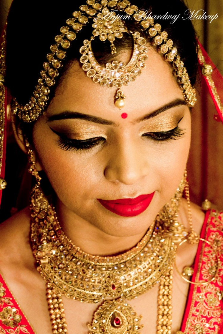 Beautiful bride. by Anjum Bridal-makeup | Weddings Photos & Ideas