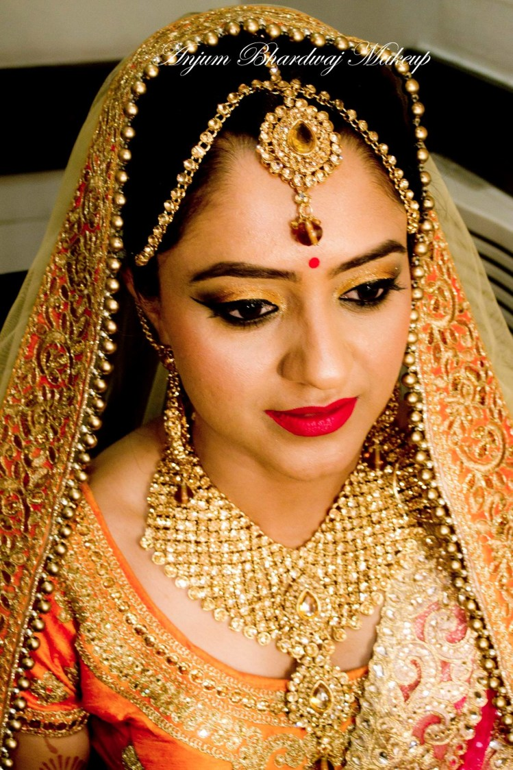 Picture perfect bride. by Anjum Bridal-makeup | Weddings Photos & Ideas