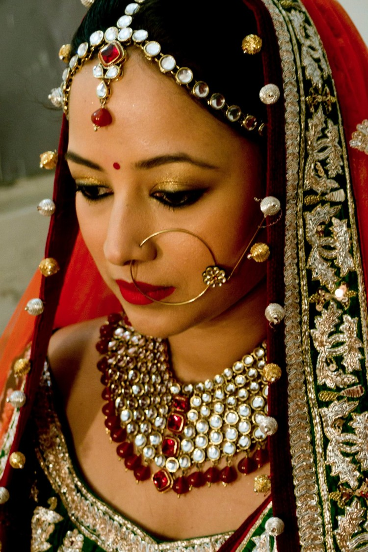 Perfect bridal look. by Anjum Bridal-makeup | Weddings Photos & Ideas