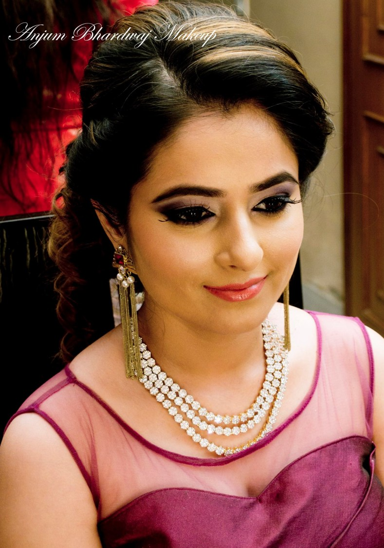 Everything is done just right. by Anjum Bridal-makeup | Weddings Photos & Ideas