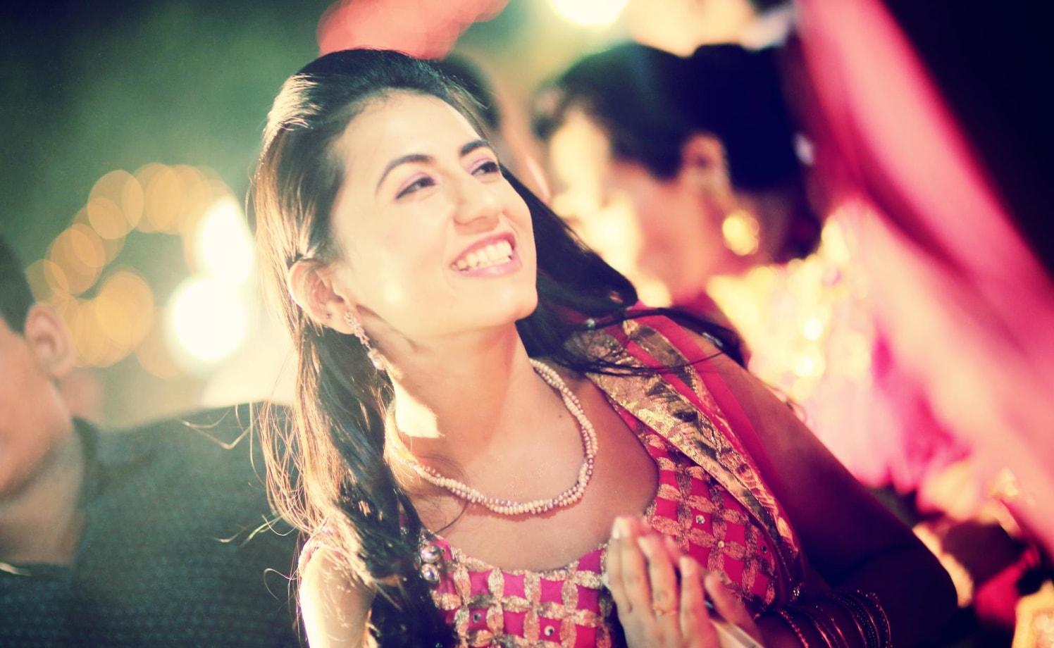 A cheery smile by Wedding Krafter Wedding-photography | Weddings Photos & Ideas
