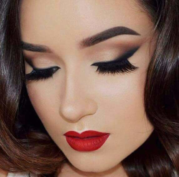 Make-up on point! by Makeup Artist by Tamanna Ghori Bridal-makeup | Weddings Photos & Ideas