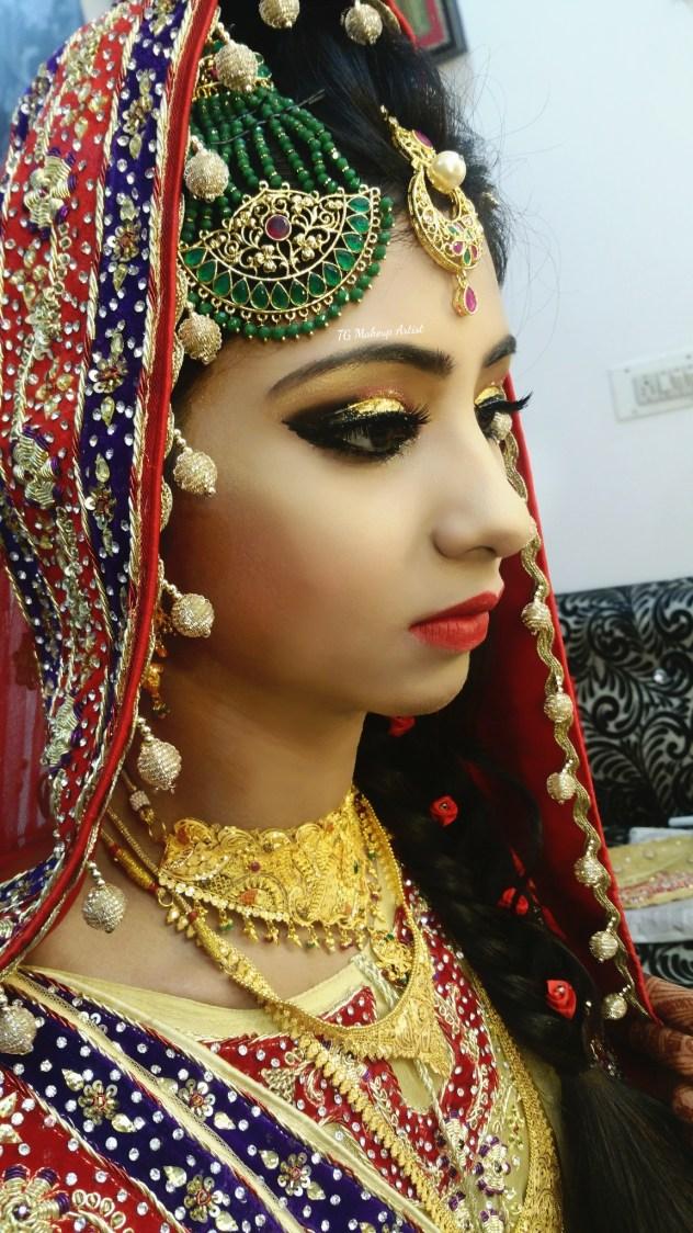 Bold bridal makeup look! by Makeup Artist by Tamanna Ghori Wedding-photography | Weddings Photos & Ideas