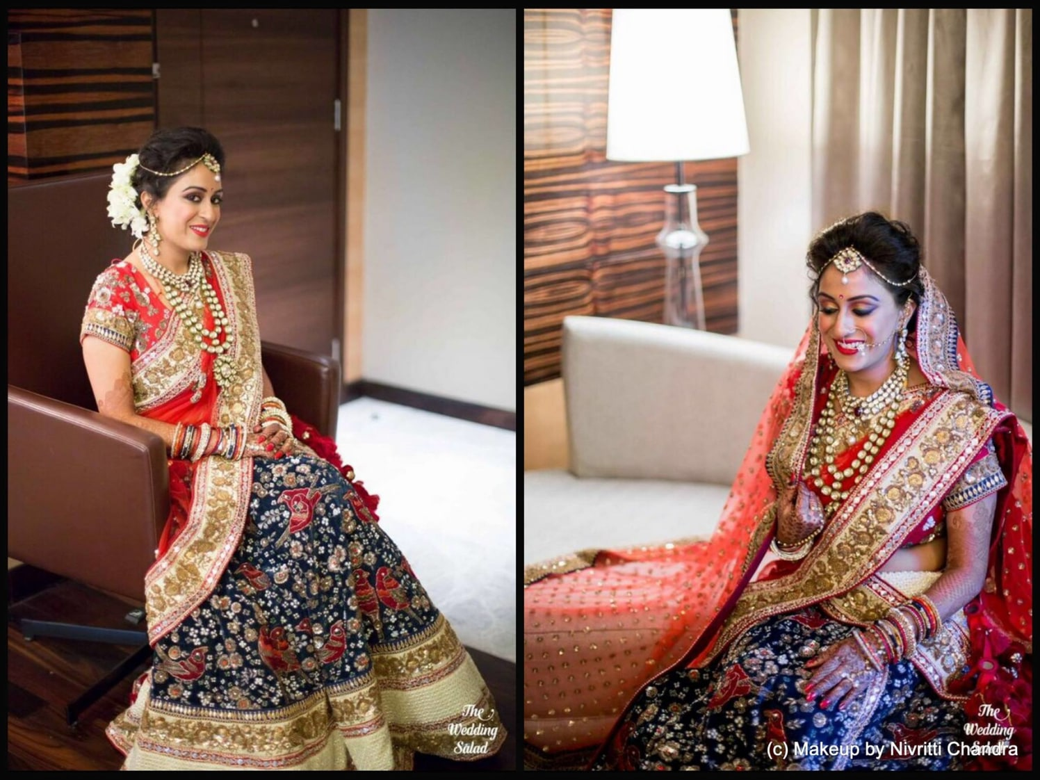 Picture perfect bride. by Nivritti Chandra Bridal-makeup | Weddings Photos & Ideas