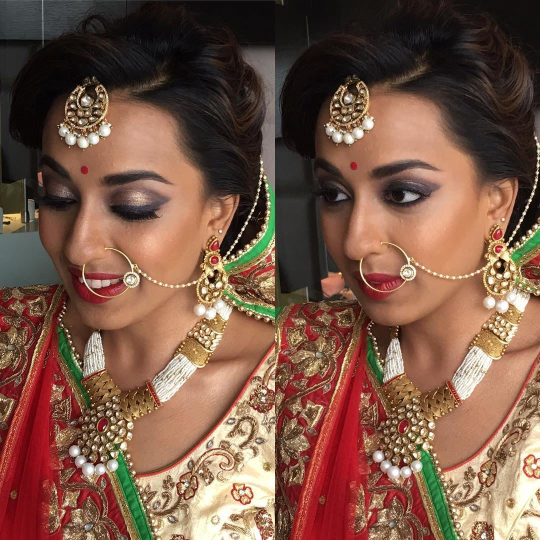 Lowkey Makeup look by Nivritti Chandra Bridal-makeup | Weddings Photos & Ideas