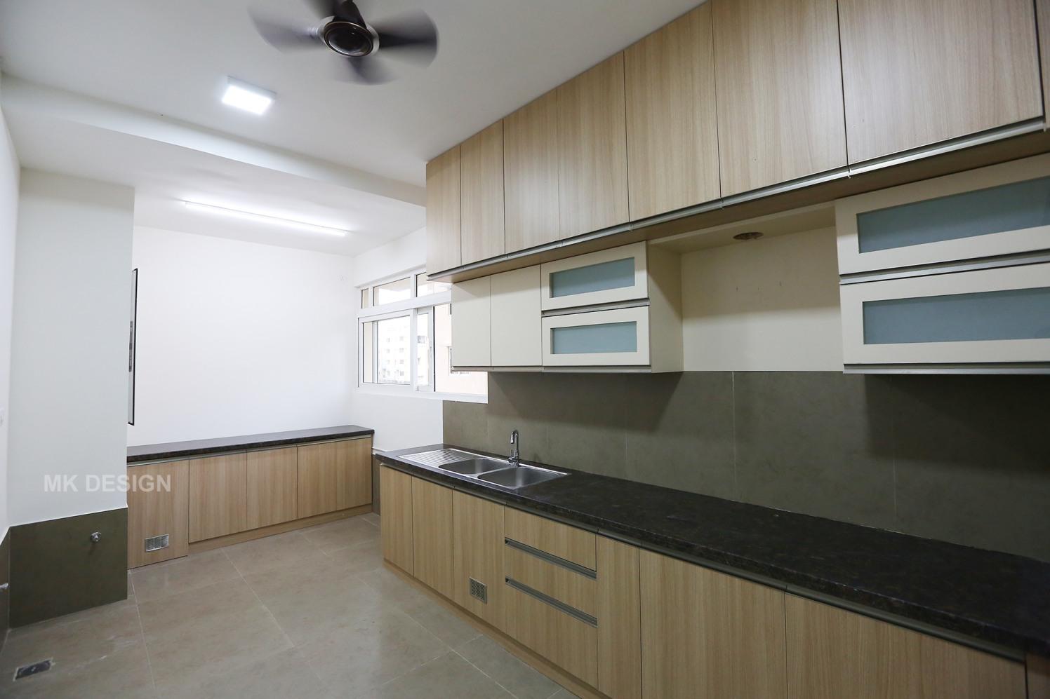 Horizontal Abode by MK Design Architects And Interior Consultants Modular-kitchen Modern | Interior Design Photos & Ideas