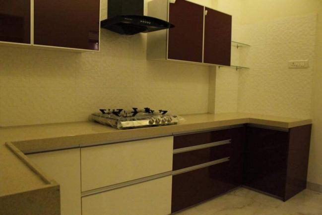 Modern Style Kitchen by Veer Interior Modular-kitchen Modern | Interior Design Photos & Ideas