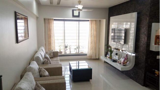 Modern Style Living Room by Veer Interior Modular-kitchen Modern   Interior Design Photos & Ideas