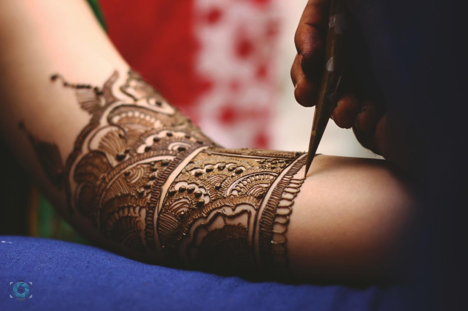 Stunning Bridal Mehendi Design by Anant Mishra Bridal-mehendi | Weddings Photos & Ideas