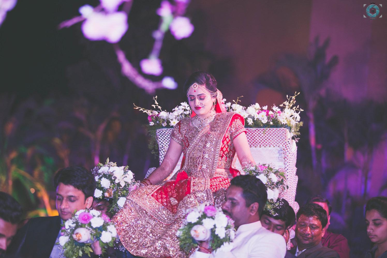 Stellar Bridal Entry by Anant Mishra Wedding-photography   Weddings Photos & Ideas