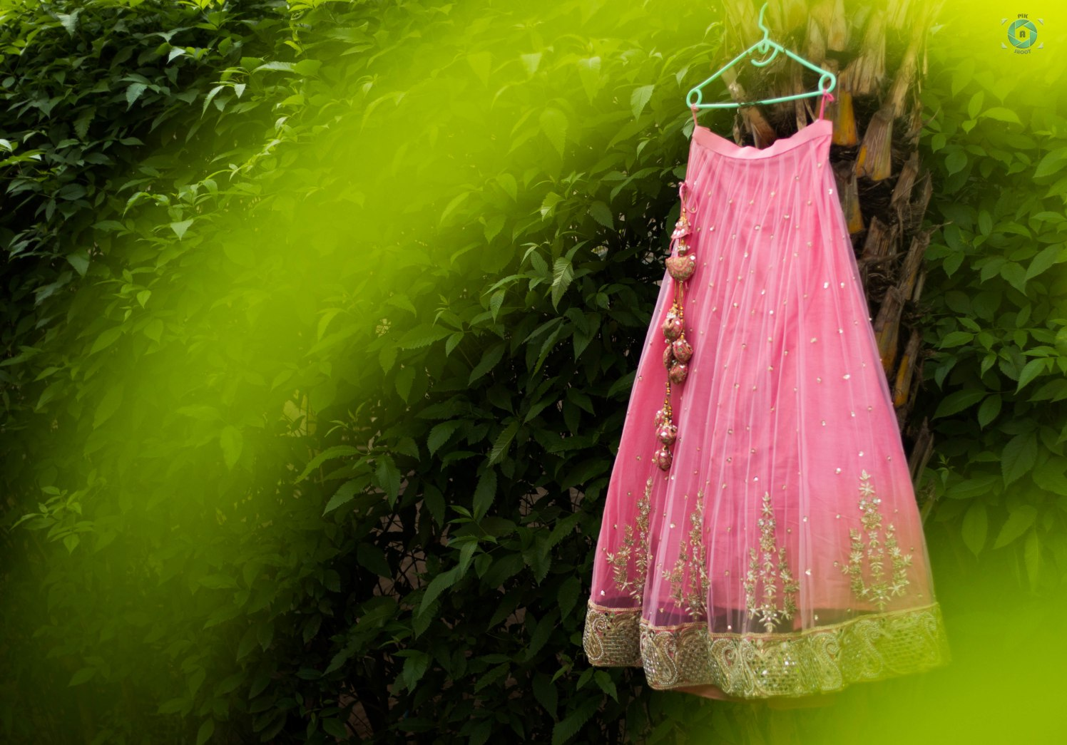 Pink Shaded Bridal Lehenga With Gold Detailing by Anant Mishra Wedding-dresses | Weddings Photos & Ideas