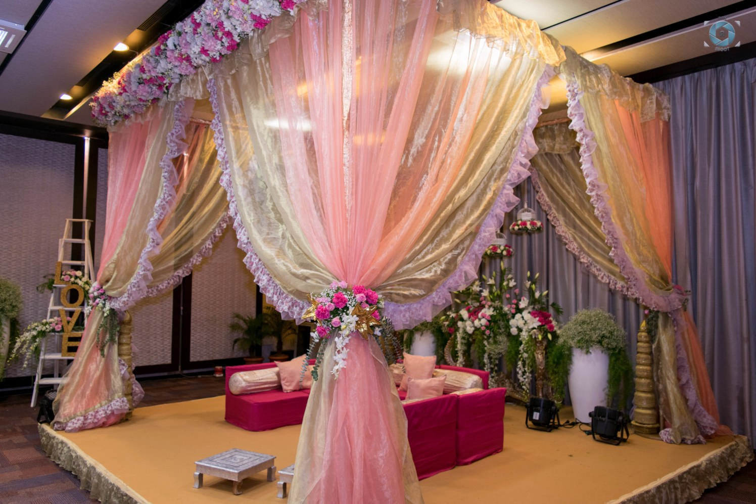 Beautiful Coral Inspired Decor by Anant Mishra Wedding-decor | Weddings Photos & Ideas