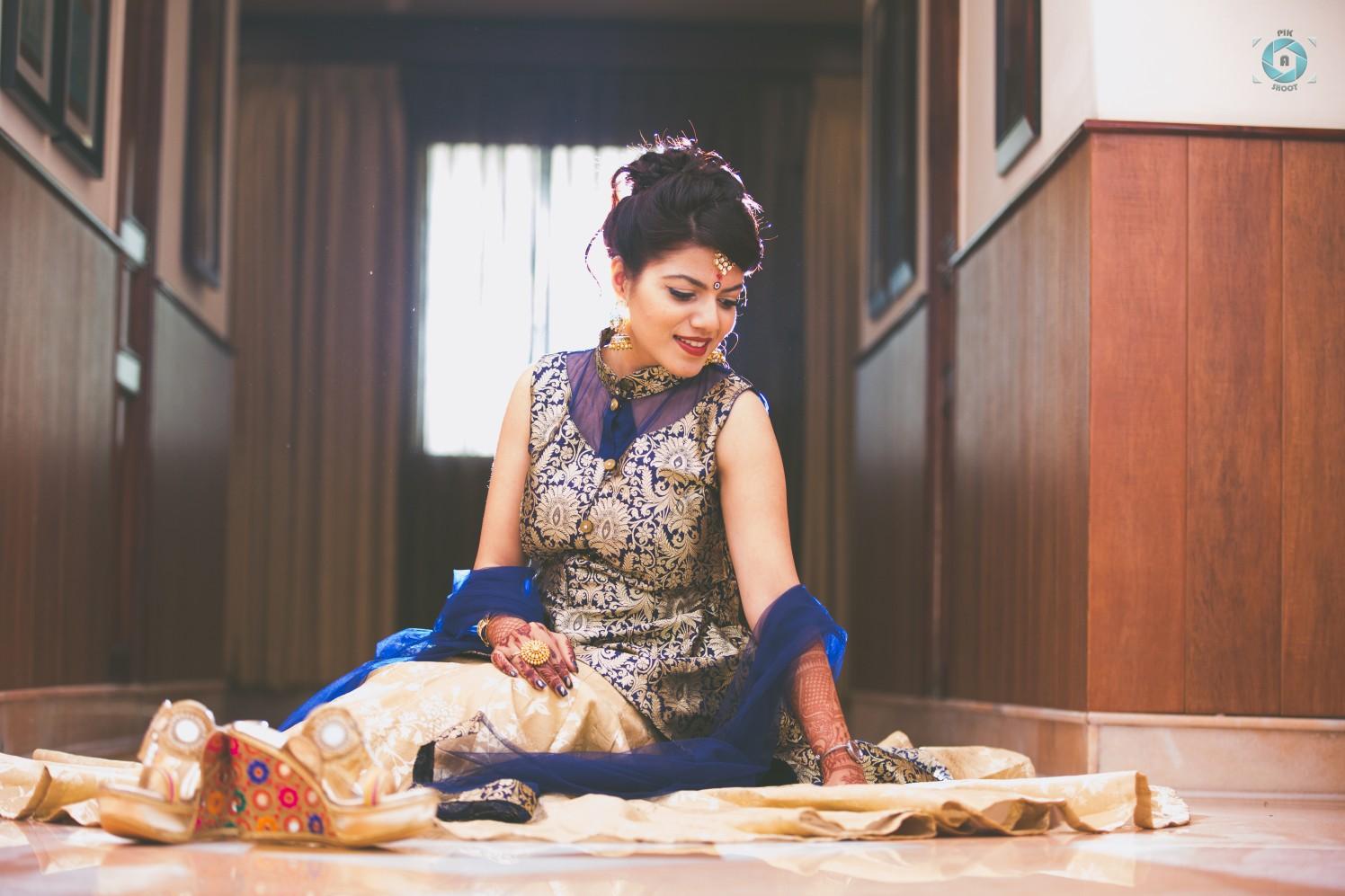Charming Bridal Portrait by Anant Mishra Wedding-photography | Weddings Photos & Ideas
