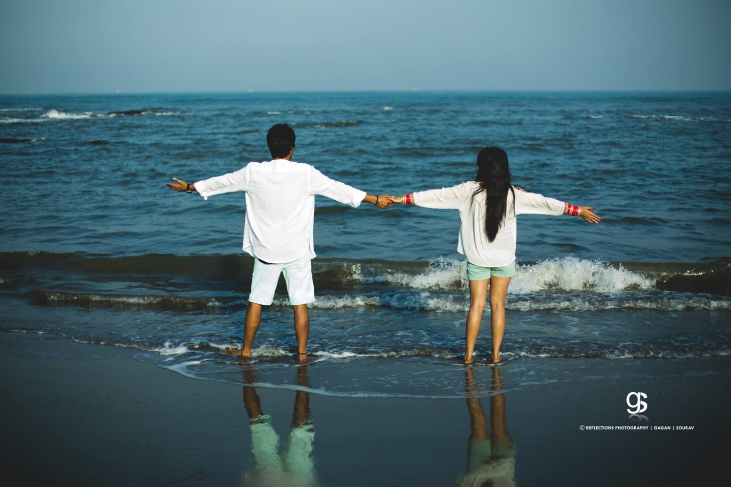 Lets face the tides together! by Reflections Photography Wedding-photography   Weddings Photos & Ideas