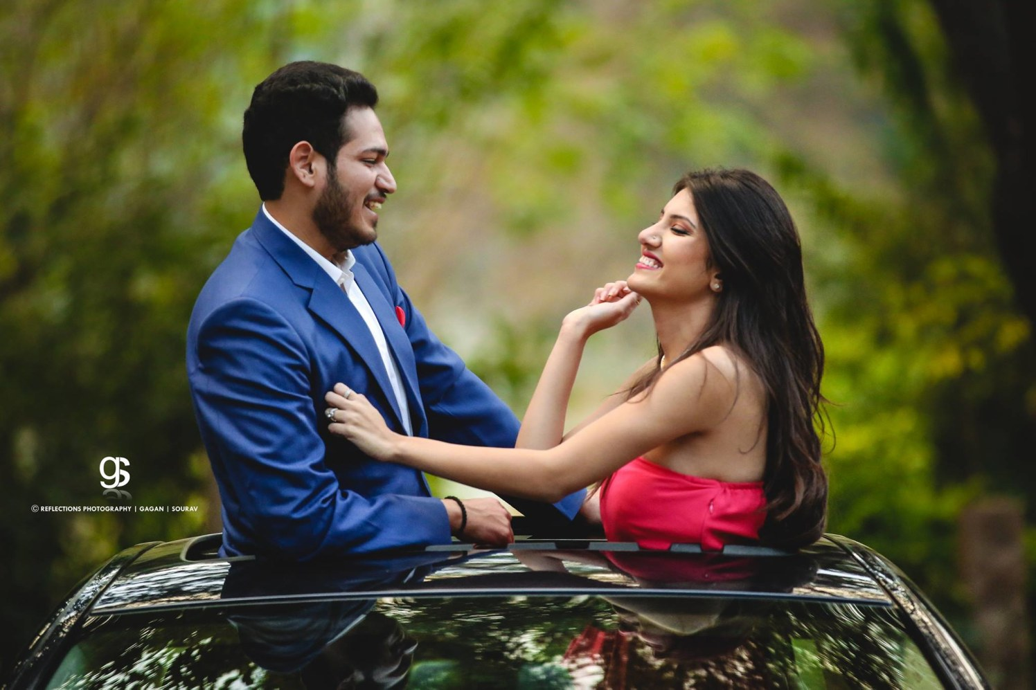 Fascinating smiles! by Reflections Photography Wedding-photography | Weddings Photos & Ideas