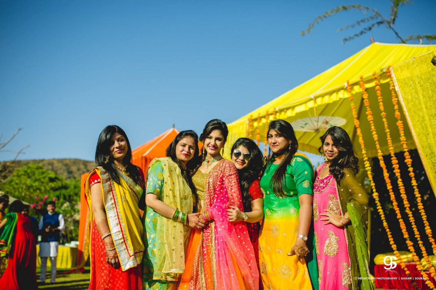 All colors of joy! by Reflections Photography Wedding-photography   Weddings Photos & Ideas