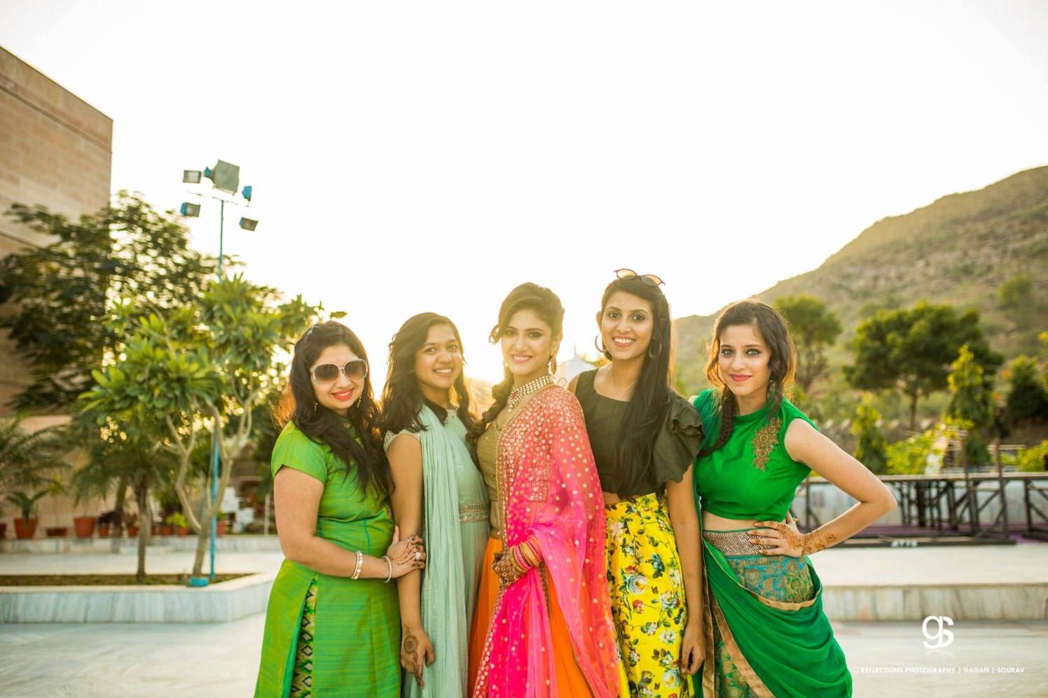 Gang of girls! by Reflections Photography Wedding-photography | Weddings Photos & Ideas
