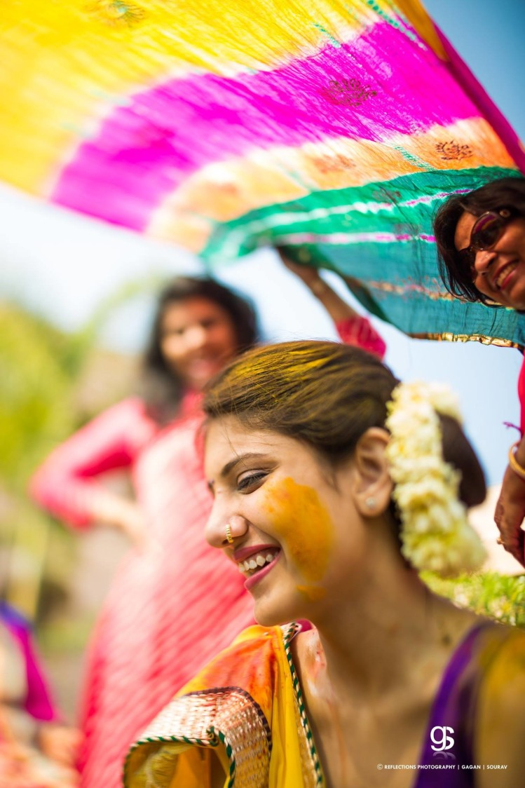 Tinch of haldi by Reflections Photography Wedding-photography | Weddings Photos & Ideas