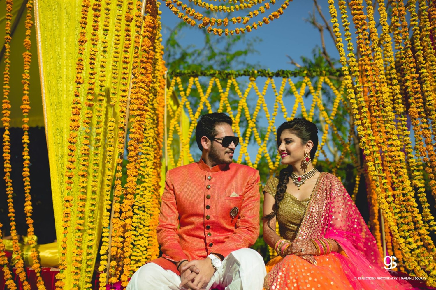 Dash of tangerine! by Reflections Photography Wedding-photography | Weddings Photos & Ideas