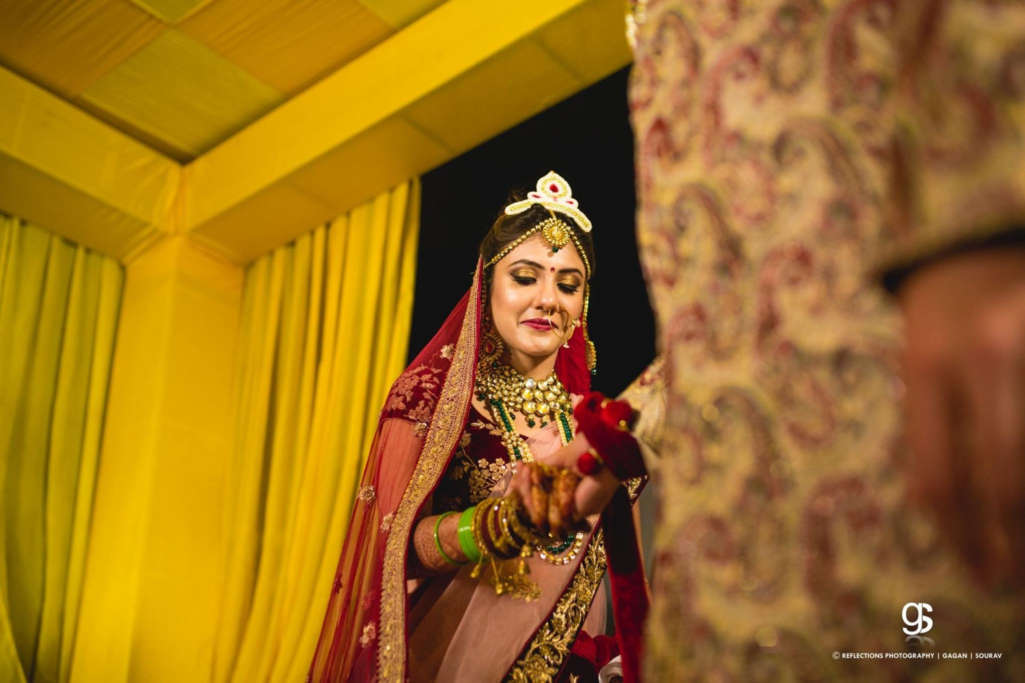 The glimpse of a perfect Indian bride! by Reflections Photography Wedding-photography | Weddings Photos & Ideas
