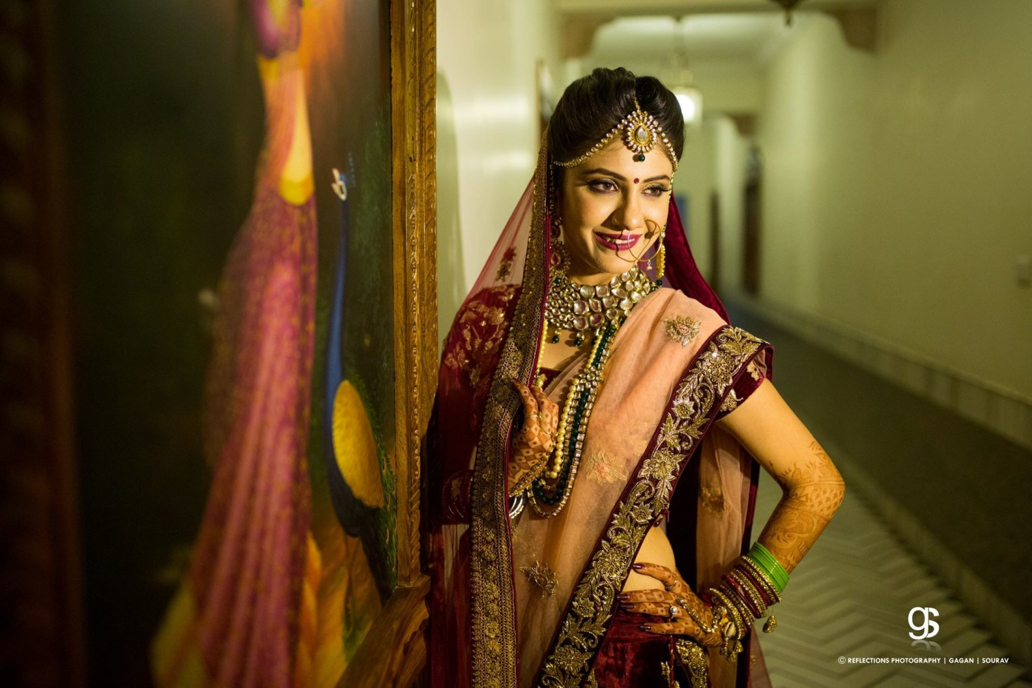 Enthralling  damsel by Reflections Photography Wedding-photography | Weddings Photos & Ideas