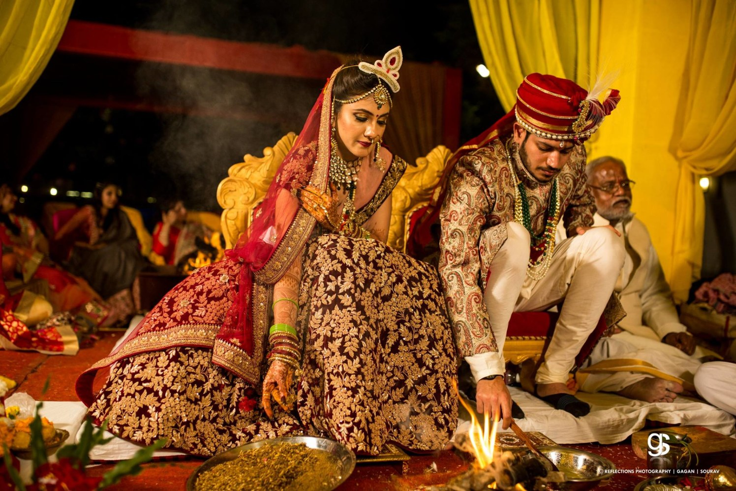 Imbibed in the rituals by Reflections Photography Wedding-photography   Weddings Photos & Ideas