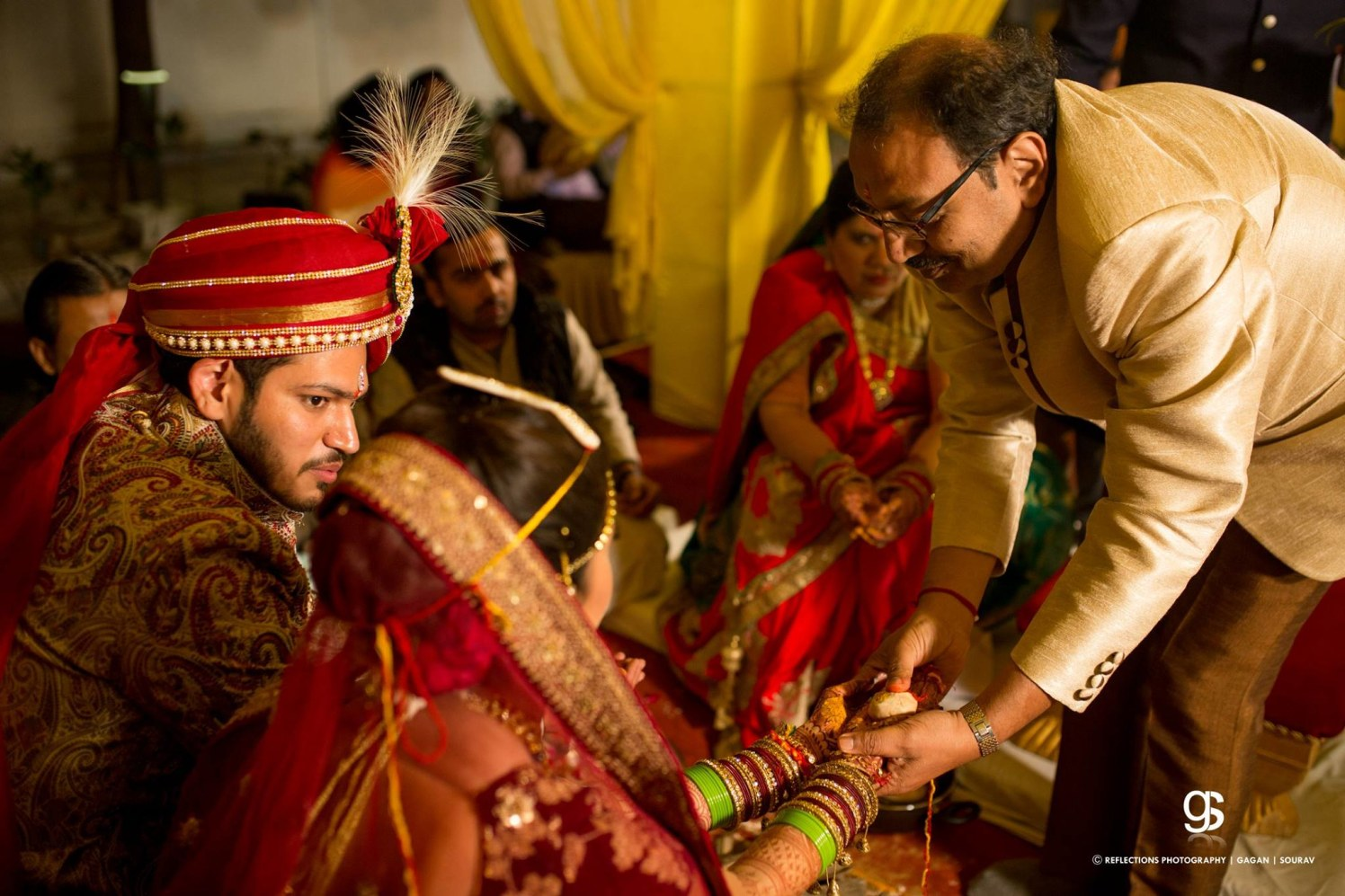 The ceremony of kanyadaan! by Reflections Photography Wedding-photography | Weddings Photos & Ideas