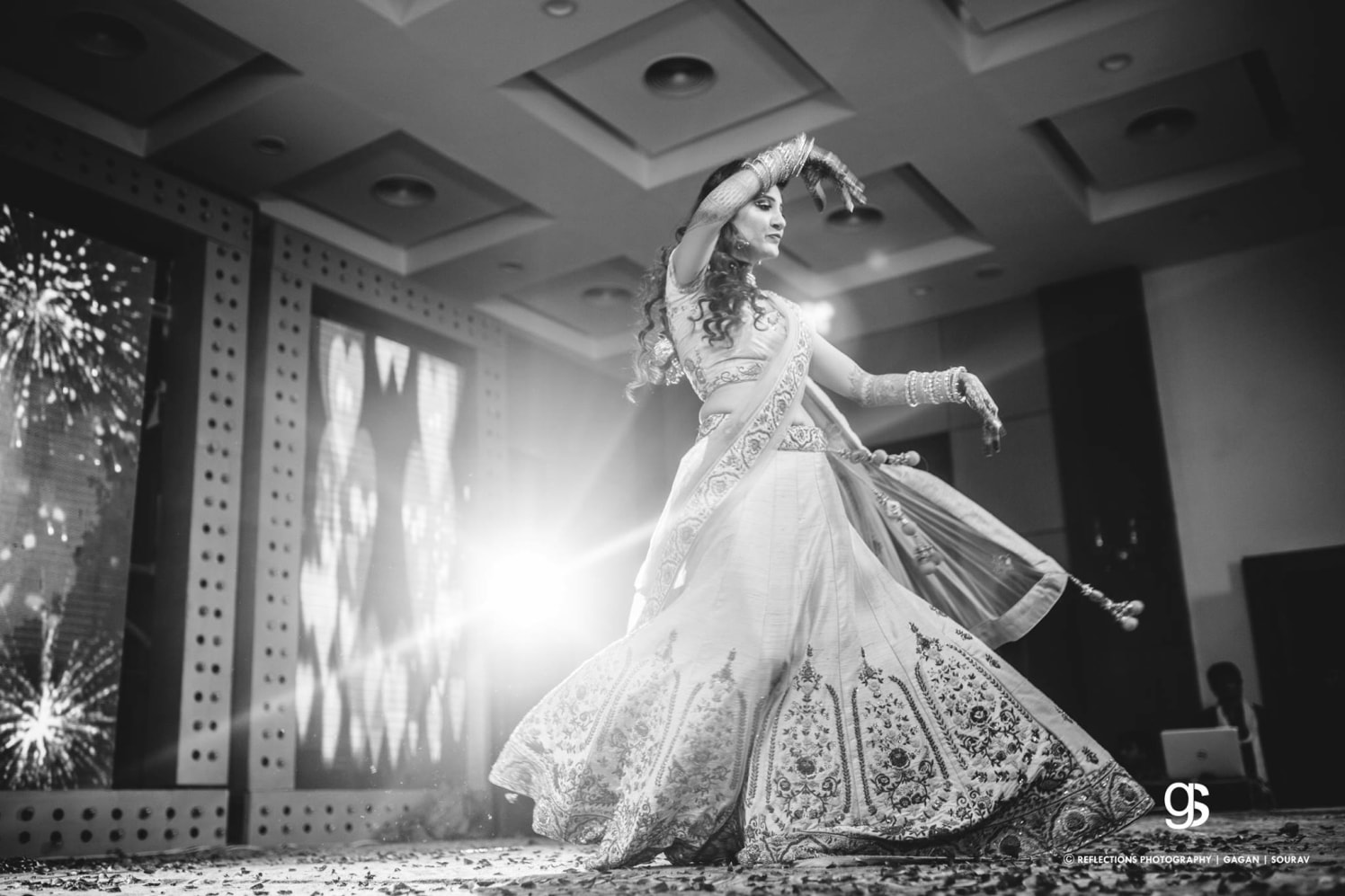 Bridal twirl by Reflections Photography Wedding-photography | Weddings Photos & Ideas