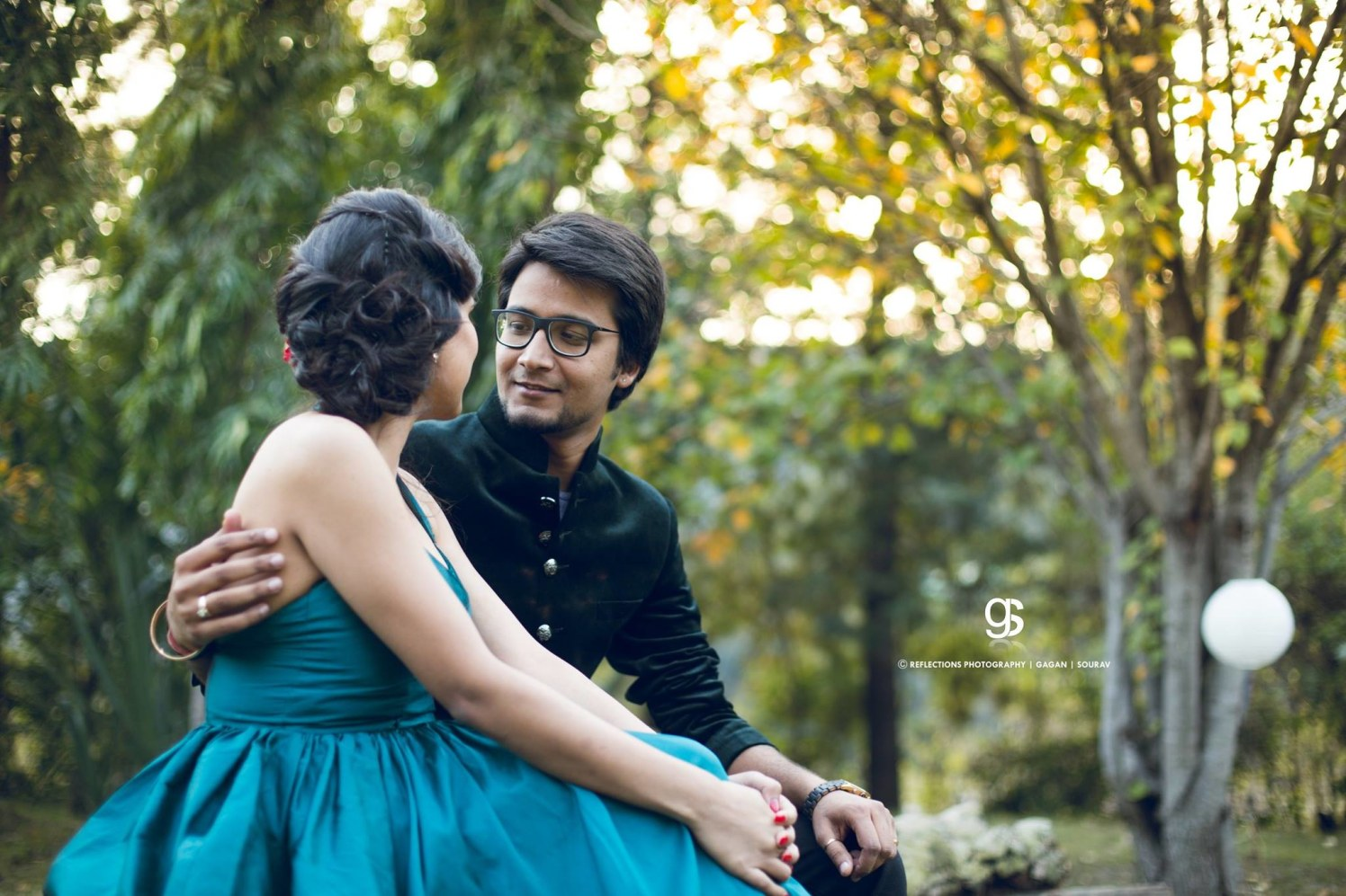 When he, looks at me! by Reflections Photography Wedding-photography | Weddings Photos & Ideas
