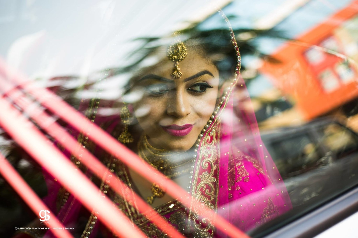 Bride Arriving In Style For Her Big Day by Sourav Samanta Wedding-photography Bridal-makeup | Weddings Photos & Ideas