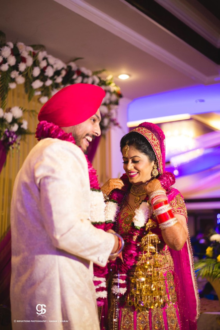 Pink Themed Outfits of Bride and Groom by Sourav Samanta Wedding-photography | Weddings Photos & Ideas