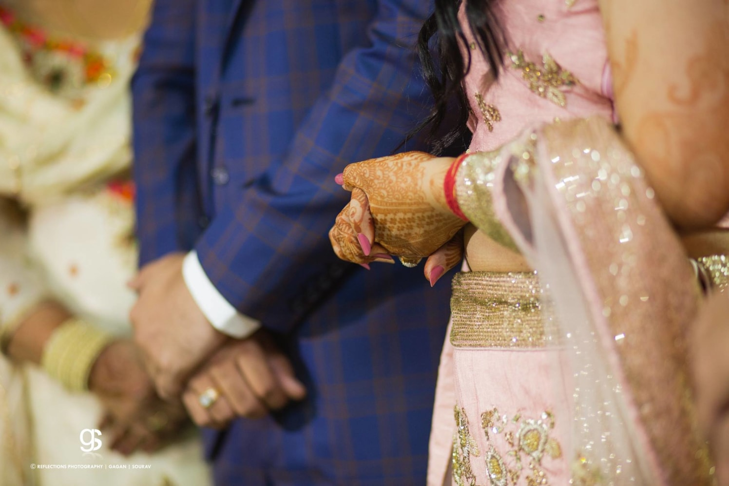 A pinkish glance! by Reflections Photography Wedding-photography   Weddings Photos & Ideas