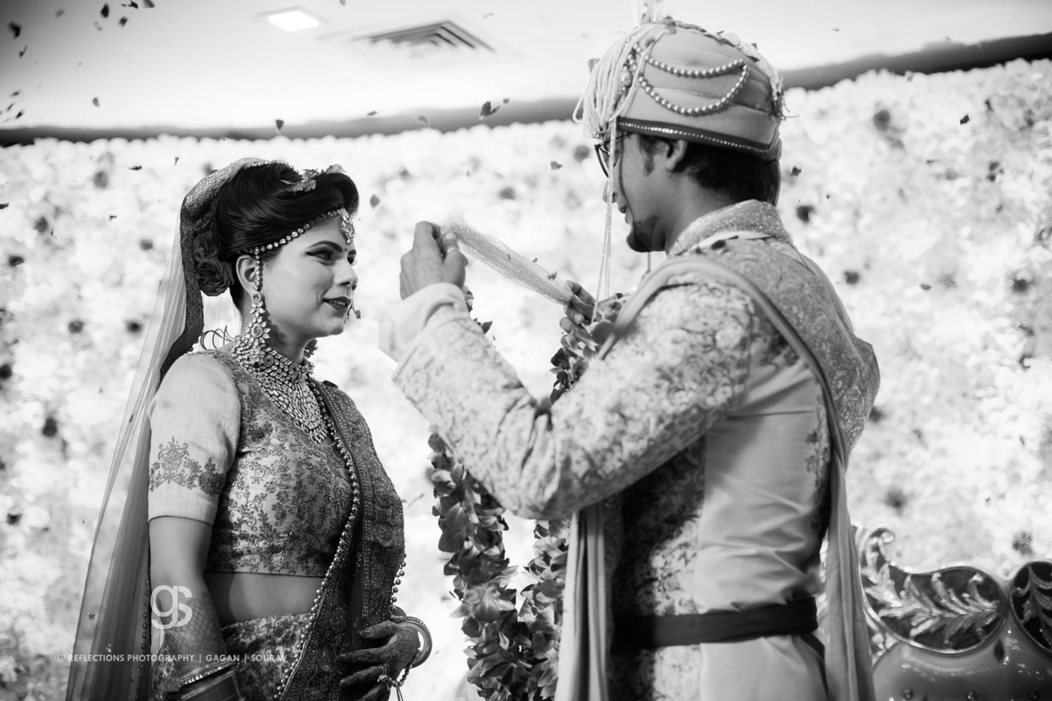 Jai mala! by Reflections Photography Wedding-photography | Weddings Photos & Ideas
